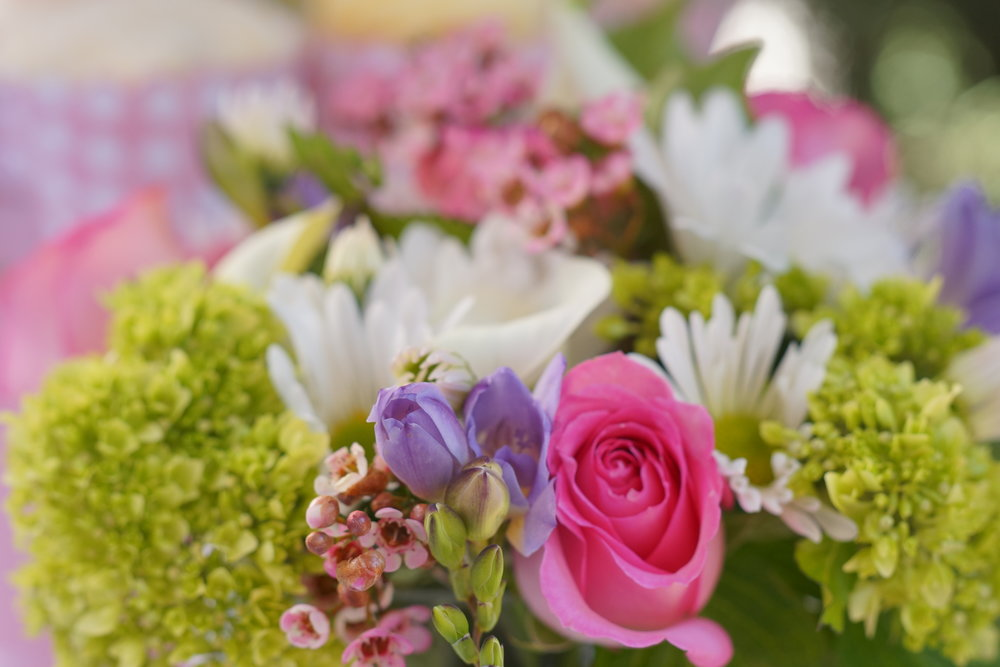 Flowers of a Bridal Shower