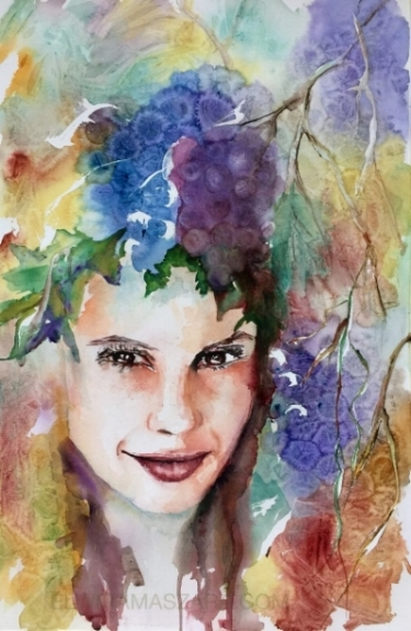 Watercolor by Elwira Barbara Maszara