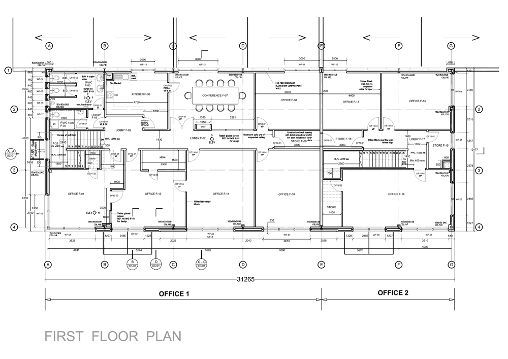 Work sd urban architect for Industrial design house plans