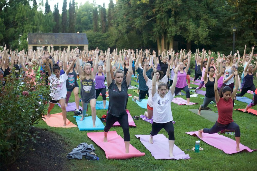 Sunrise Yoga Raleigh Rose Garden Happy Hale Healthy Bowls