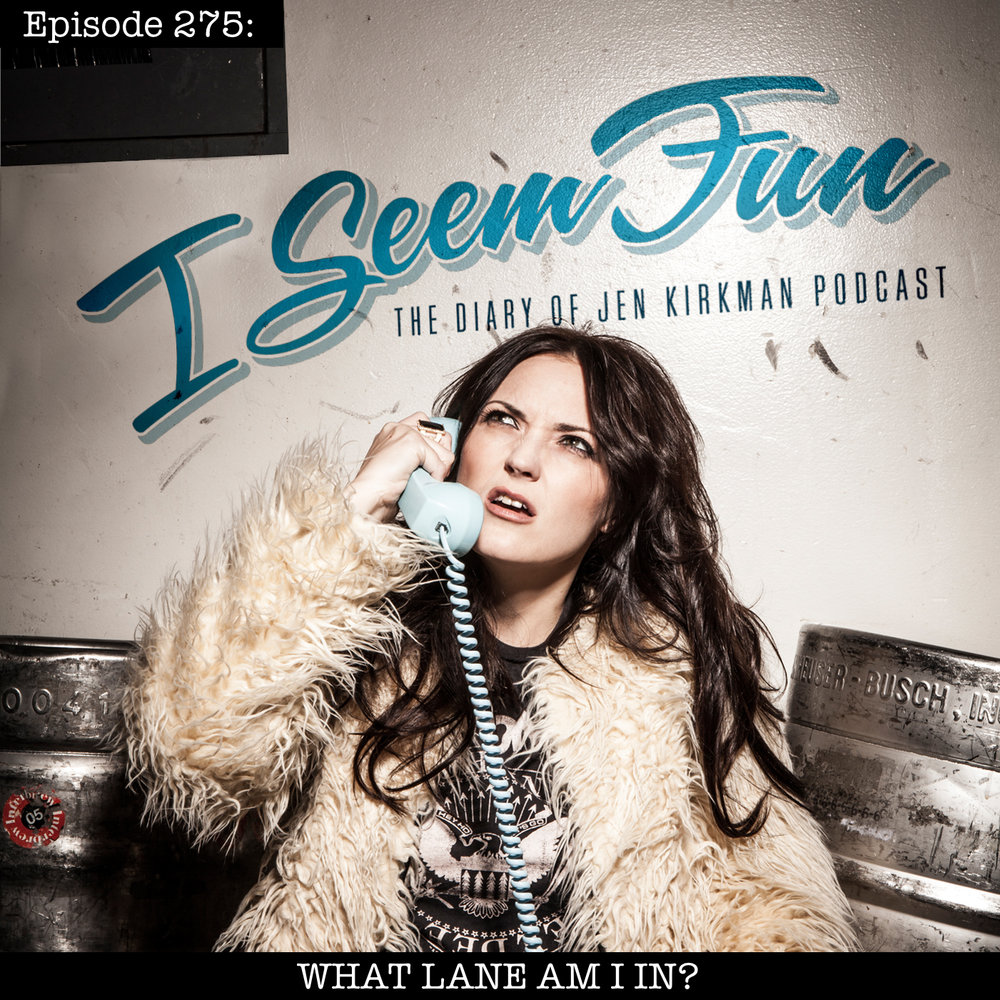 Episode 275 - RELEASE DATE 3/6/2019Jen sits at home to talk to you about how bummed she was to get a listener email suggesting that Jen lives a glamorous life and should never talk about parenting because she isn't one herself. Jen also talks about her mom going to concerts, and reads an essay about how Gen X is misunderstood.
