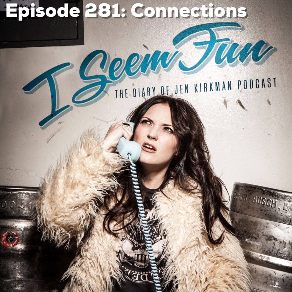 "Episode 281 - RELEASE DATE 4/17/2019Jen talks to you about her ten years on Twitter, how the internet has changed her life for better or worse, the guy who didn't get ""Heathers"", and Jen reads from obnoxious think pieces she wrote in college as well as notes from her high school friends."