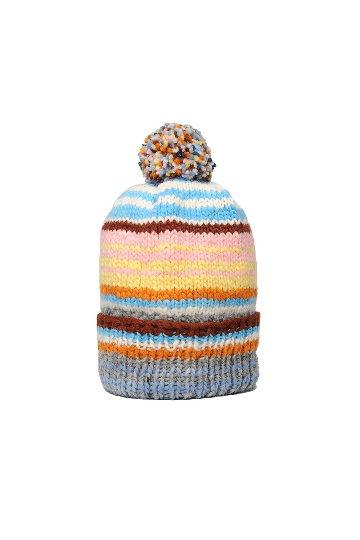 ded0be9f0ab Double Cuff Cap Multi Stripe - Pearl Grey — CHAMULA