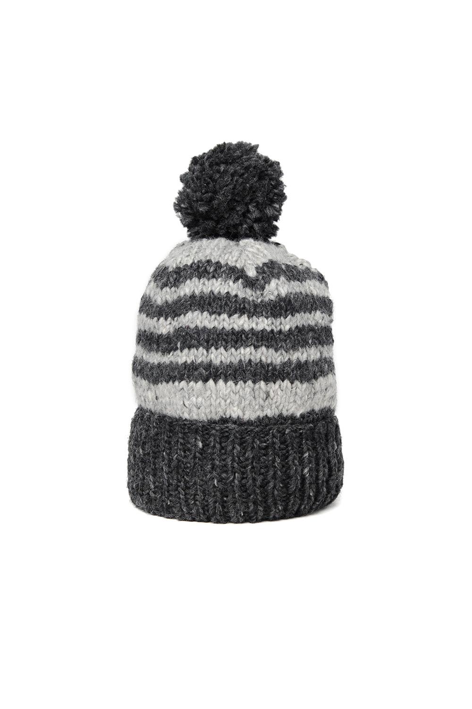 dda6695e49c Double Cuff Cap Stripe - Ox Grey x Pearl Grey — CHAMULA