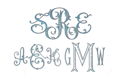 Sample Premium Monograms