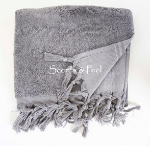 Guest Towel Canvas Light Terry $20  (Available in multiple colors)
