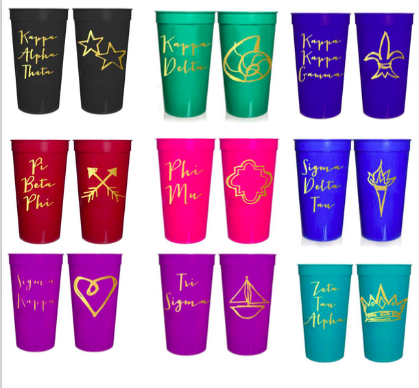 Sorority Cups $5