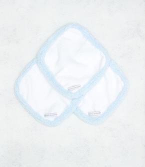 Chenille Set of 3 Washcloths $32