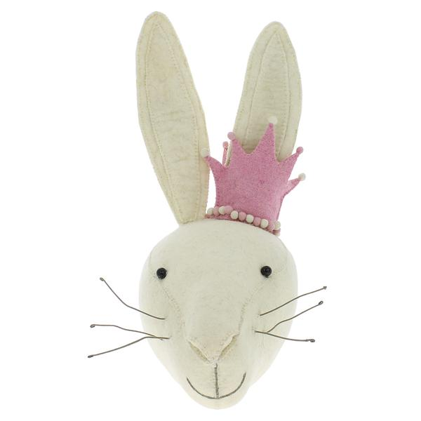 Rabbit Head with Crown $176