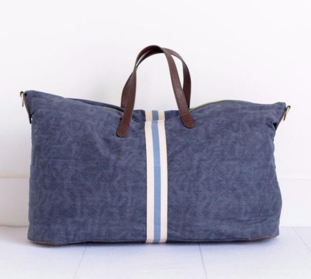 Admiral Blue Weekender Bag $175