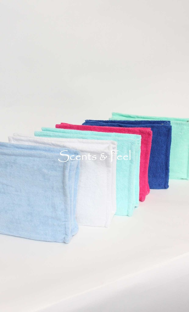 Scents and Feel Terry Pouch Plastic Lined $40  (Available in multiple colors)