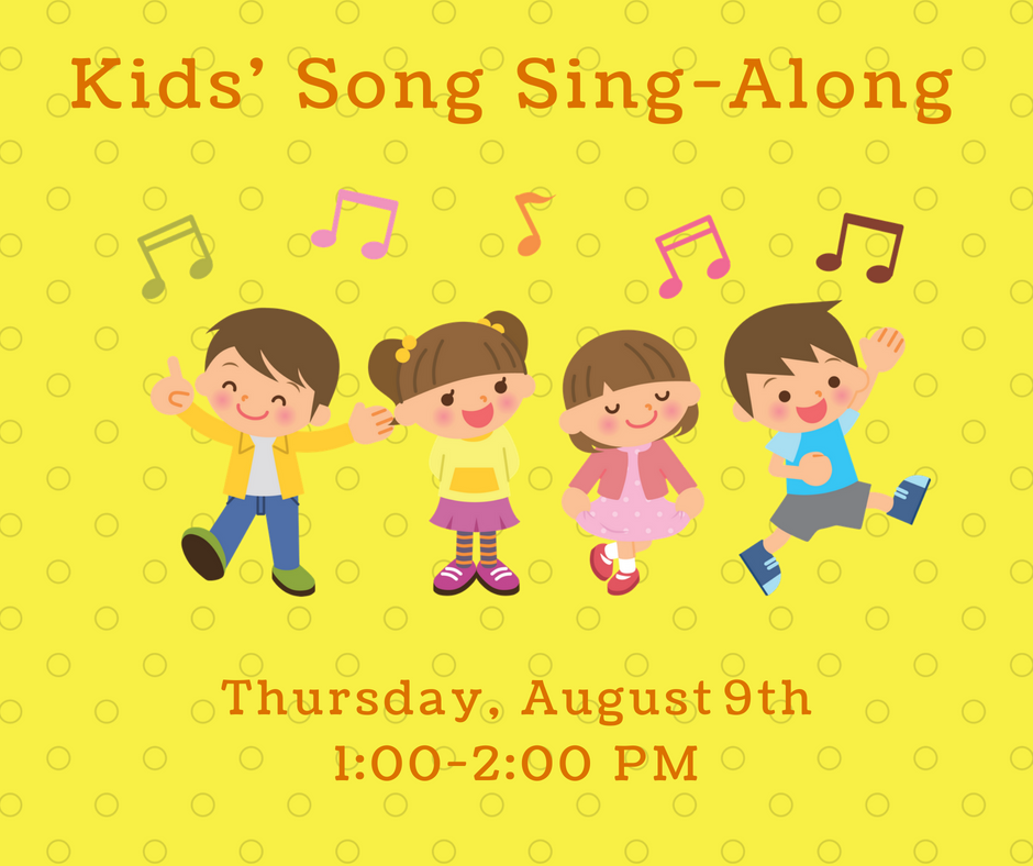 Kids' Song Sing-Along — Community Free Library