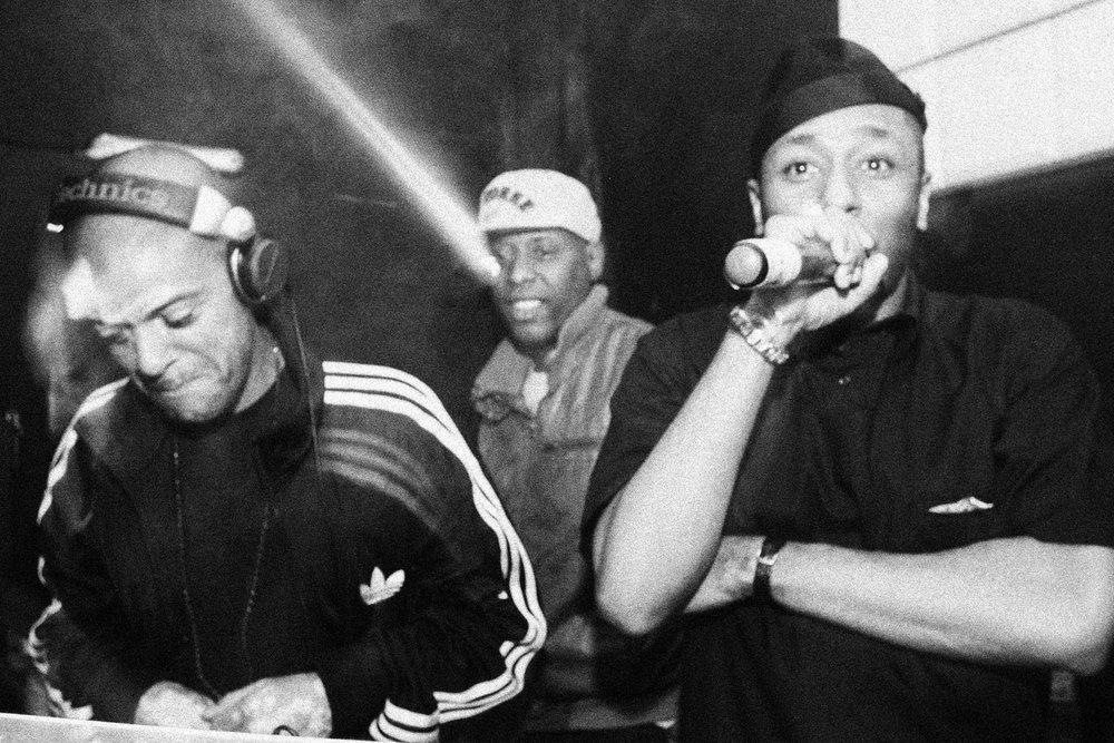 KL Jay, Talib Kweli e Mos Def.