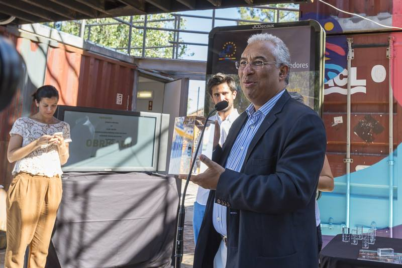 António Costa durante o seu discurso