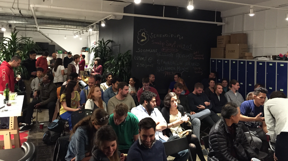 Meetup I organized with Serendipia @startuphouse