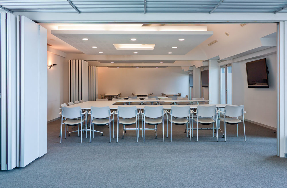 All conference rooms