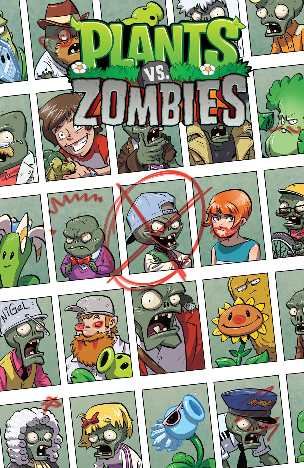 Plants vs Zombies: Issue #3