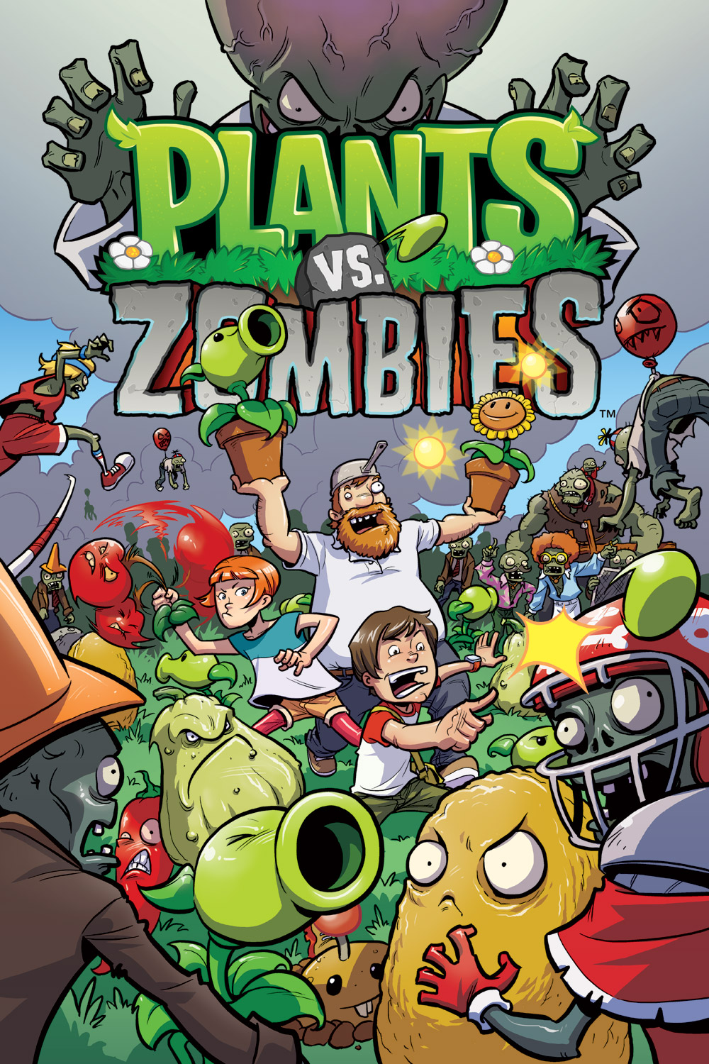 Plants vs Zombies: Lawnmageddon