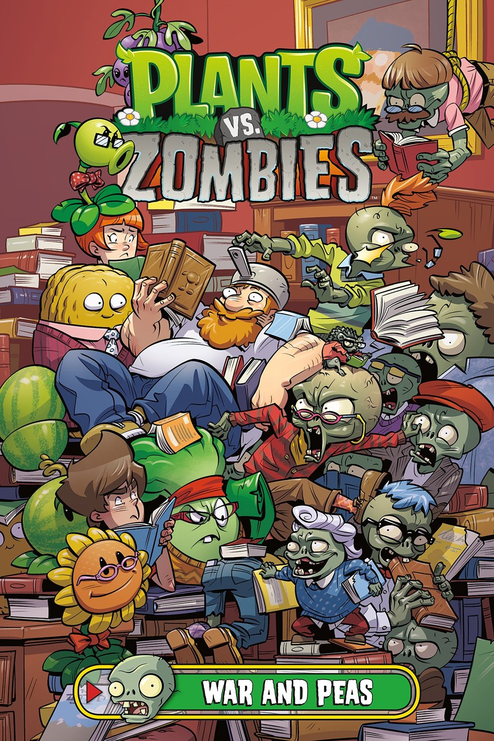 Plants vs Zombies: War and Peas