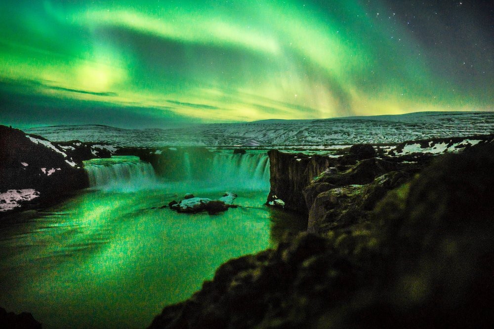 Aurora Borealis In Iceland, Photo by Don Henson
