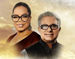 Oprah Winfrey and Deepak Chopra COURTESY OF OWN: OPRAH WINFREY NETWORK