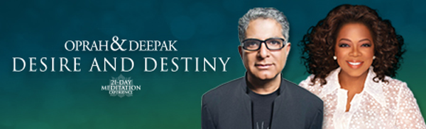 Oprah Winfrey and Deepak Chopra  , COURTESY OF OWN: OPRAH WINFREY NETWORK