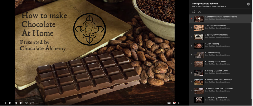 Watch How to Make Chocolate from the Bean On video