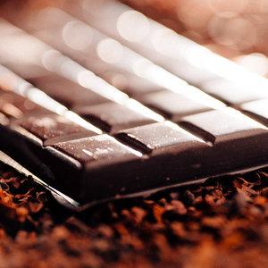 properly tempered chocolate