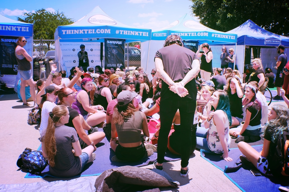 Nick and Kellin's TEI Workshop in Dallas.