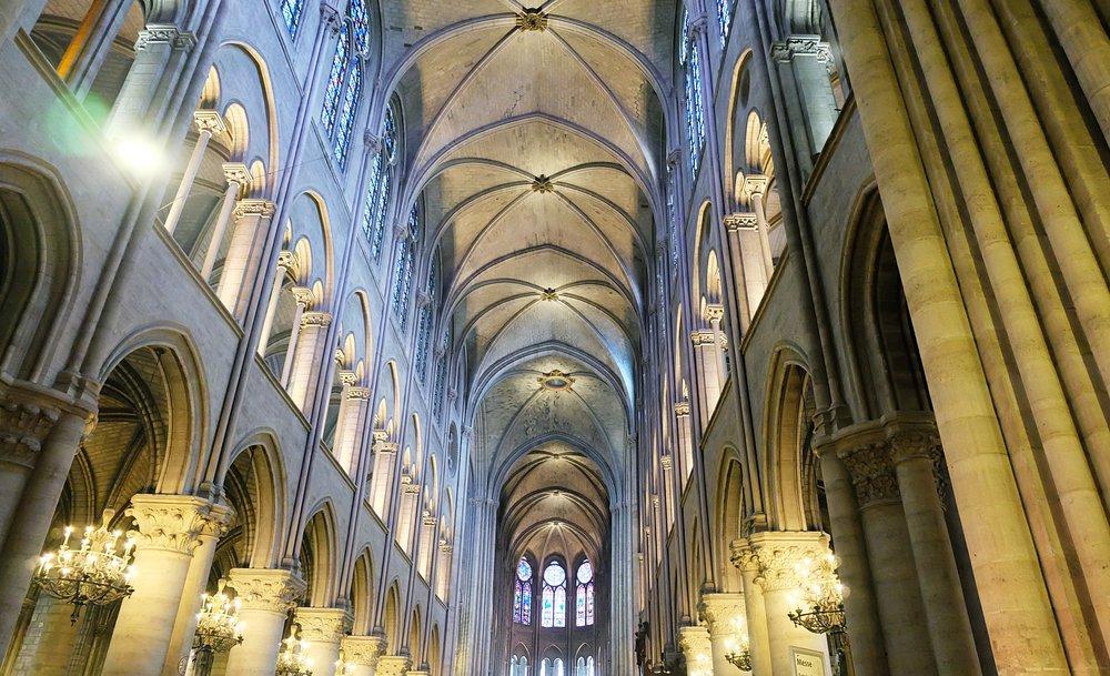 Inside the Sacred Heart Basilica