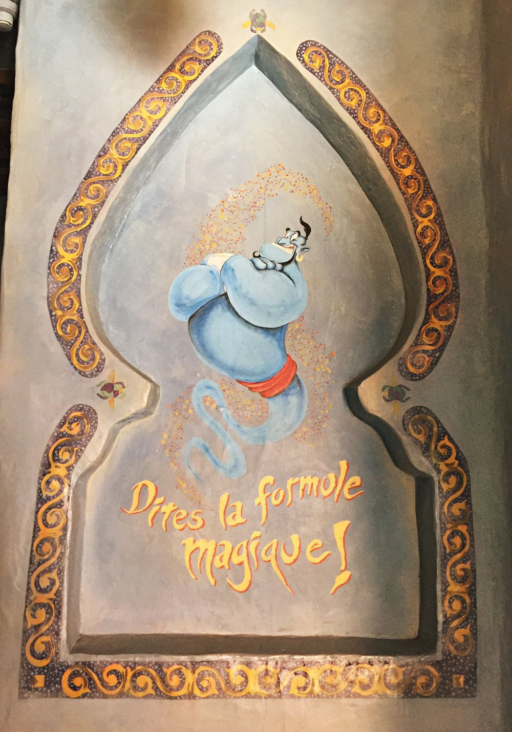 Aladdin's Enchanted Passage en Français!