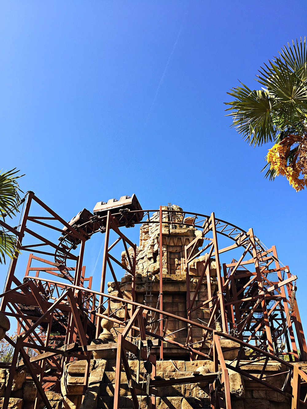 Indiana Jones roller coaster!! (Not in Fantasyland)