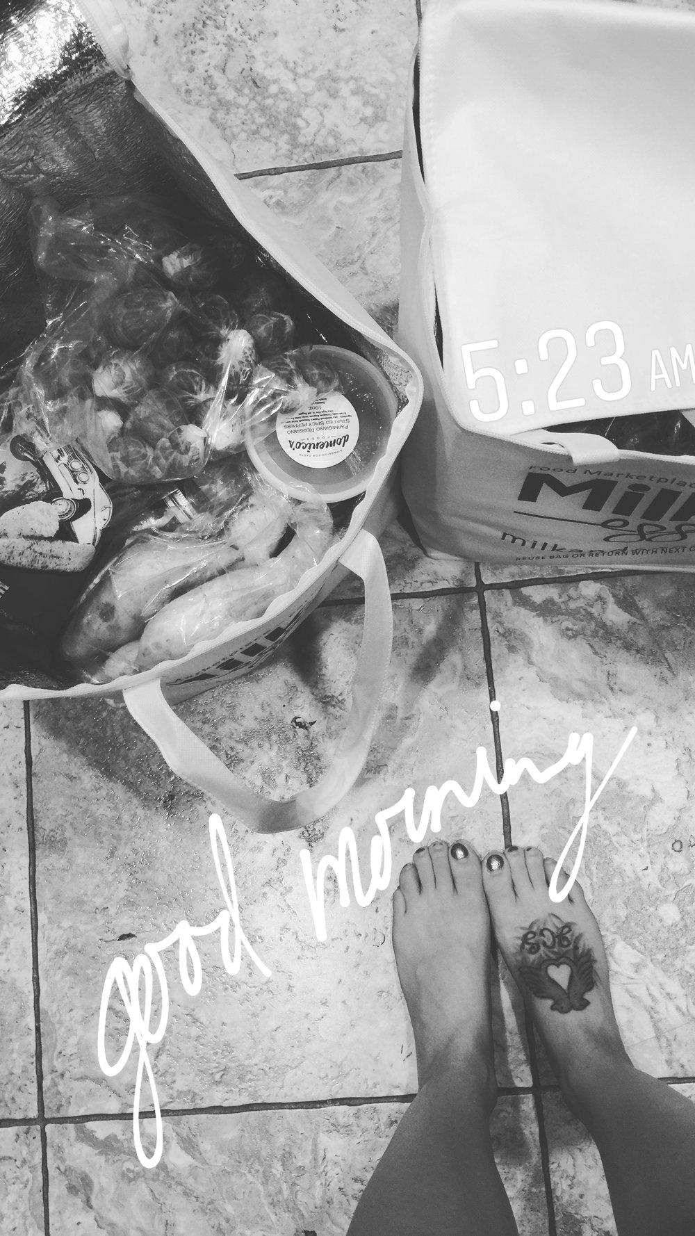 From Jenna's Instagram Story (@mrsjennamartin)