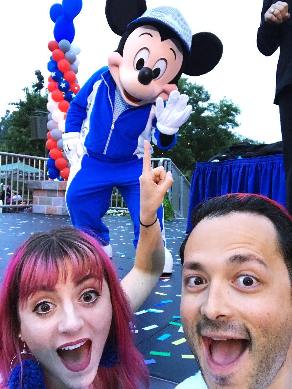 Hiiiiii Mickey!