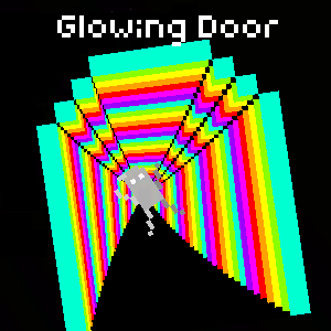 Glowing Door
