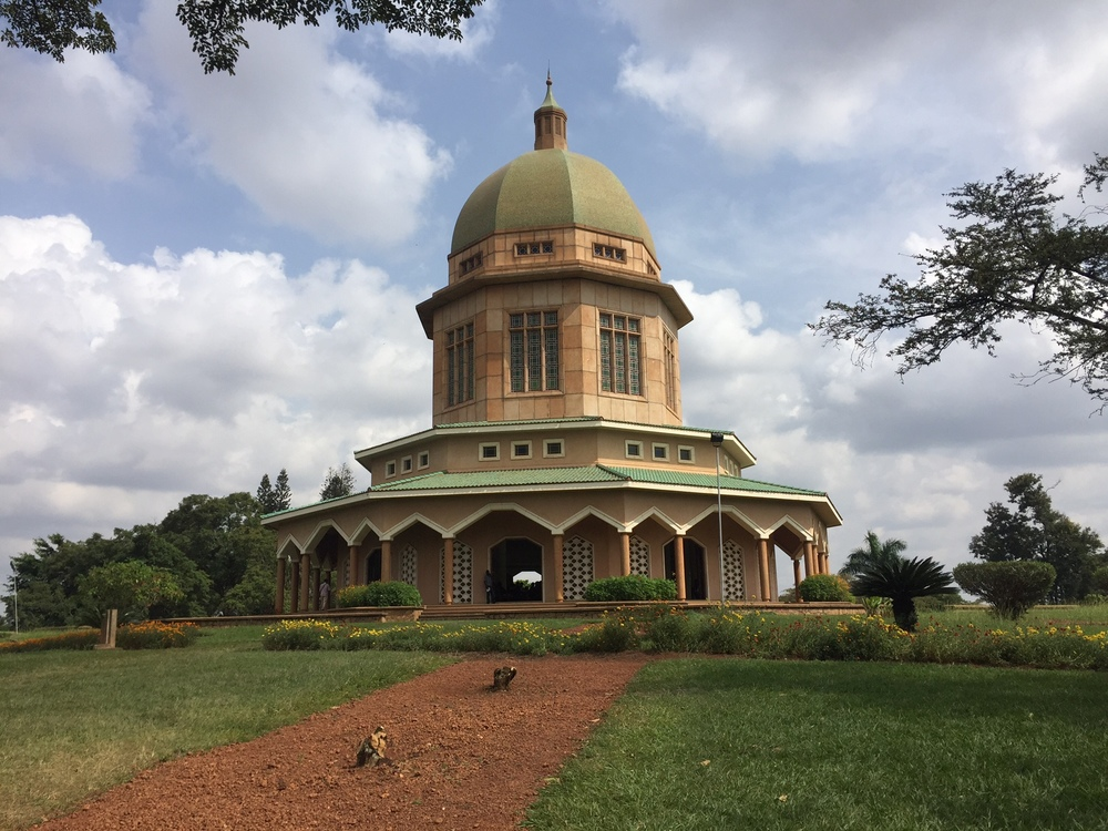 The Baha'i Temple in Kampala.