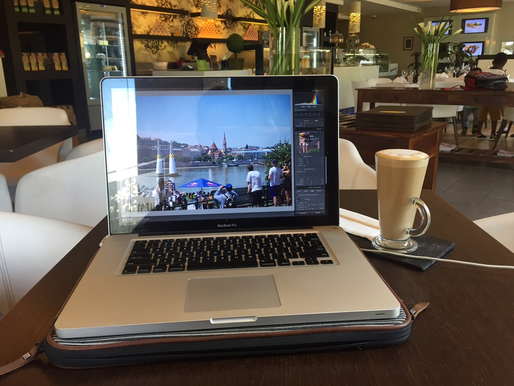 My office. Also known as La Patisserie at Acacia Mall.