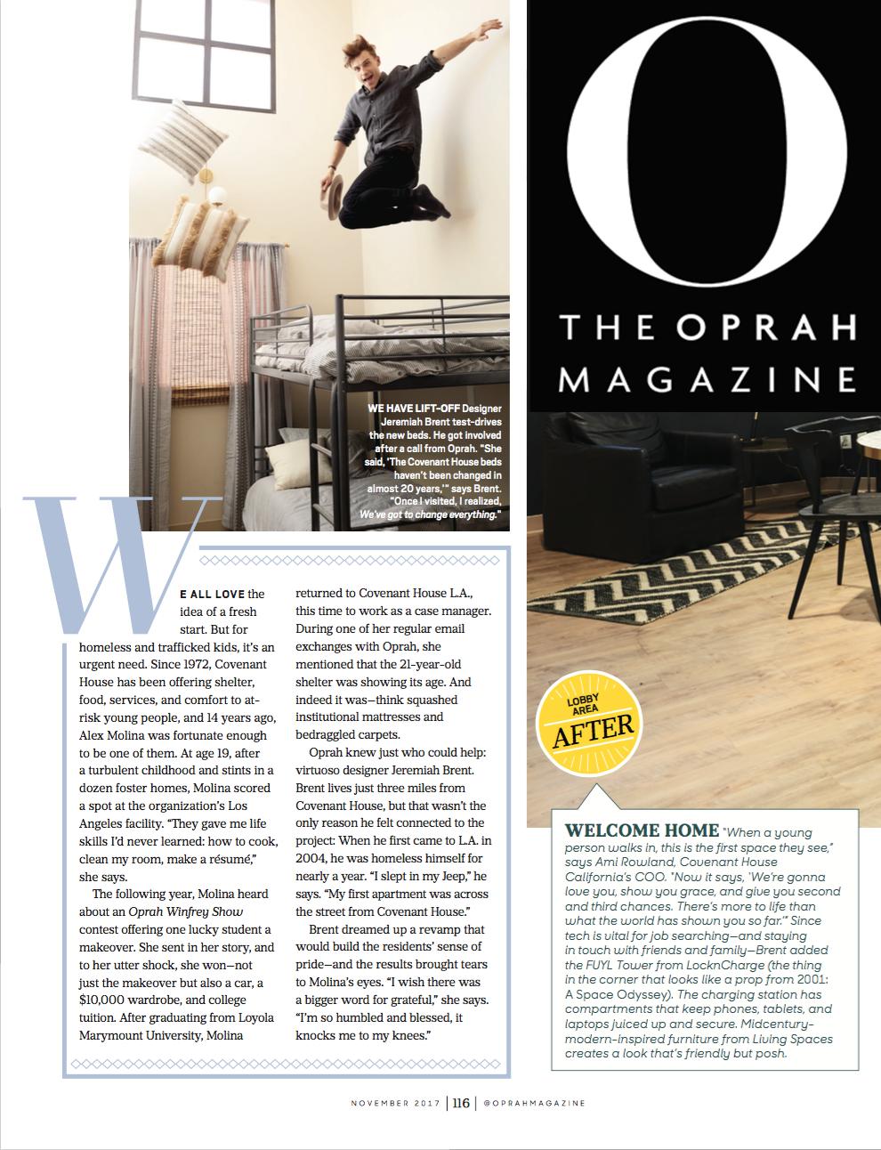 O Magazine, October 2017