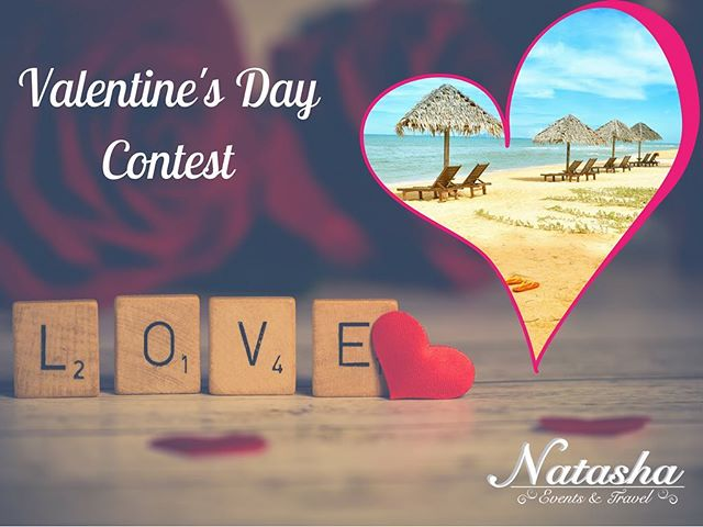 *Contest Alert* Love is in the air and it's time for our annual Valentines Day contest to win $100 off any travel or wedding package booked! Terms & conditions apply. --------------- To enter: - follow @natashaeventsandtravel - follow @talkswithtash1 - tag 2 friends that would want to win ---------------- Winner will be announced on Valentines Day!
