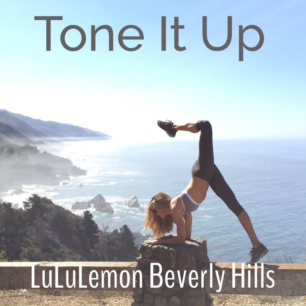 Beverly Hills LuLu Lemon Vinyasa Flow