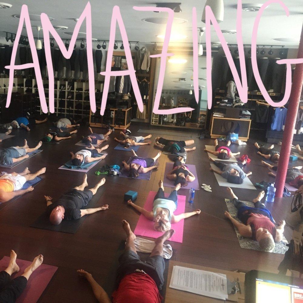 Lululemon Robertson Community Yoga