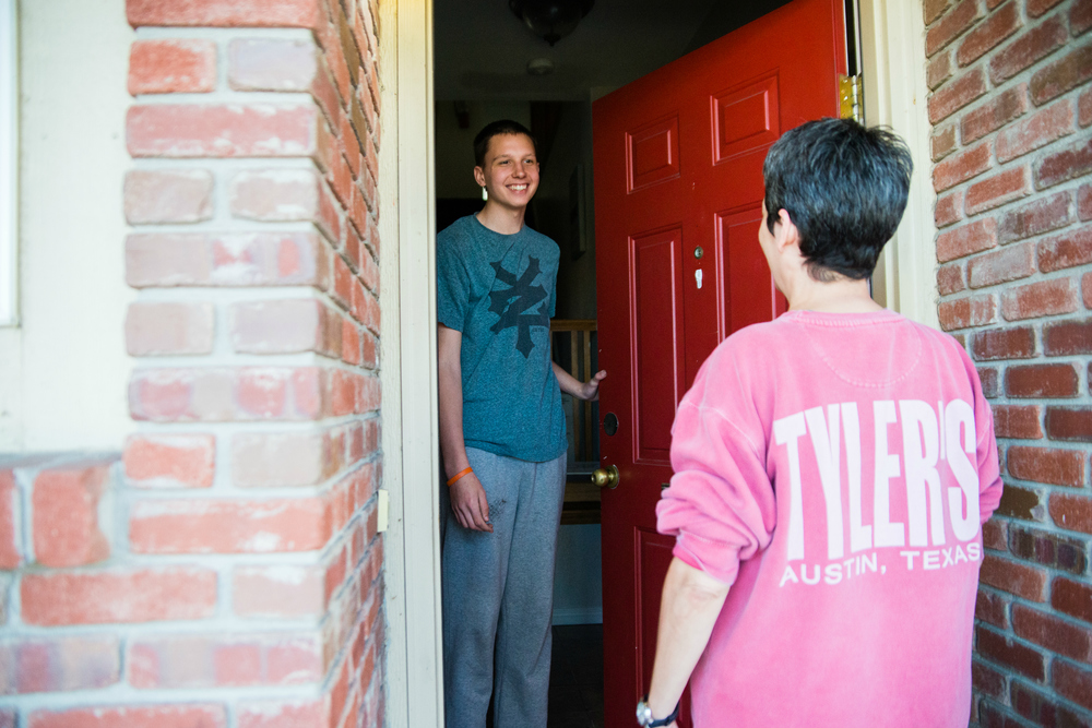 Discovery Home offers supportive, transitional housing for teen boys who also struggle with a mental health diagnosis.