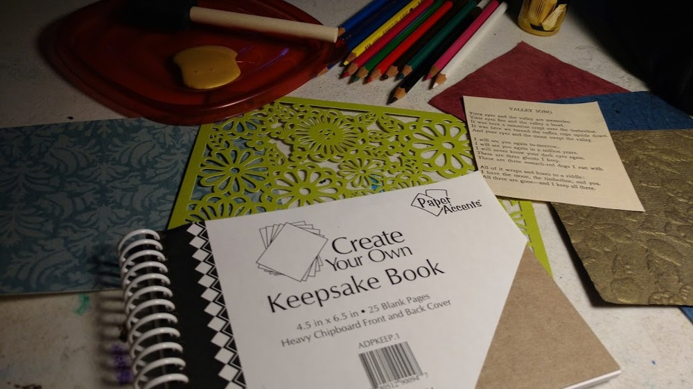 Create Your Own Keepsake Book is available in the shop.
