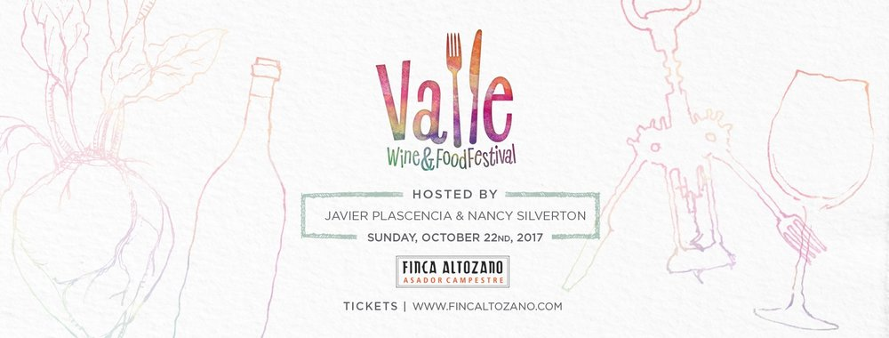 "FIRST ANNUAL ""VALLE Wine & Food Festival"""