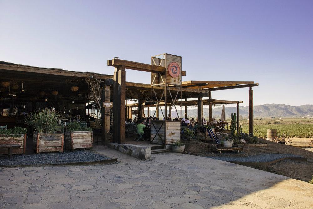 FINCA ALTOZANO - Asador Campestre en el Valle de Guadalupe