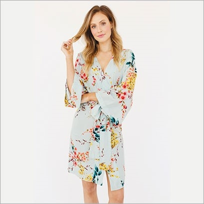 A Pretty Robe   A pretty robe will brighten her mornings and feel luxe.