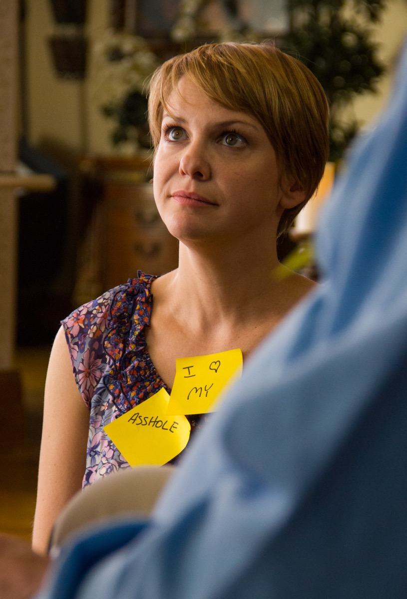 Chloe (Larisa Oleynik) gets her post-its on...