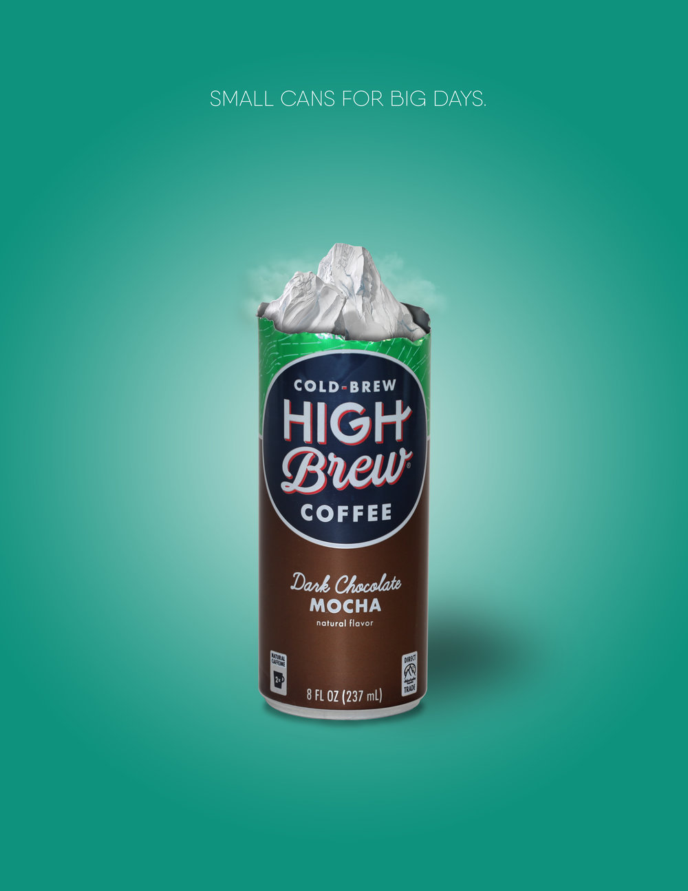 Print campaign created for High Brew Coffee  (Creative Direction, Design, Copy, and Photography)