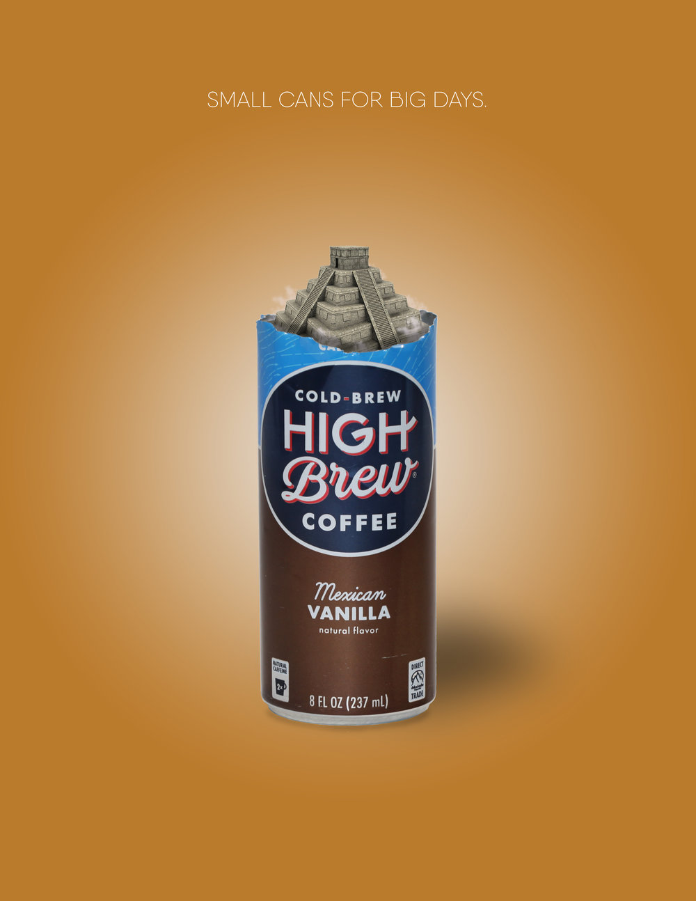 Print campaign created for High Brew Coffee