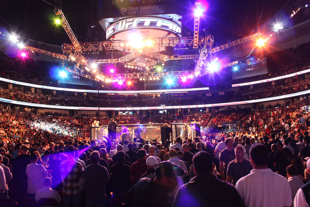 The value of UFC, it turns out, is in the content it creates. Photo by HansenHouse Communication.